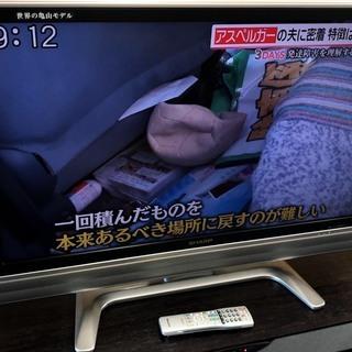 シャープ 液晶テレビ 37インチ