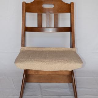【おすすめ】木製のとってもしっかりした椅子 2脚セット プ…