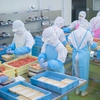 【食品加工の工場作業員】年齢や経験等は問いません!!未経験者でも大...