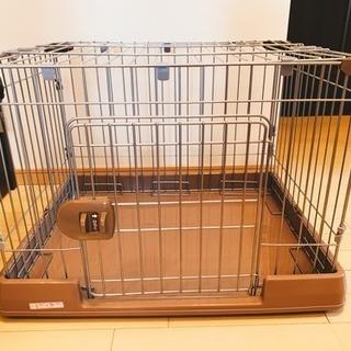 ペットケージ 犬用 猫用 ゲージ フタ付き