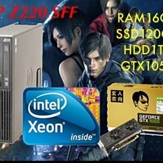 【XEON搭載】GTX1050ゲーミング