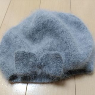 H&Mモフモフベレー帽