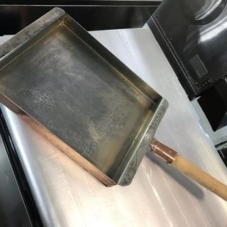 銅玉子焼き 関西型 24cm ★77992