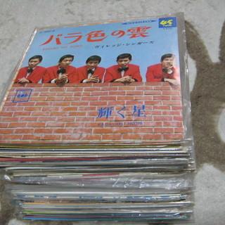 グループサウンズ、フォーク、昭和歌謡等 EPレコード 50枚