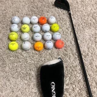 ゴルフ イグニオ ユーティリティとロストボール20個セット