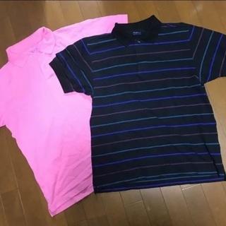 ポロシャツ メンズ L 美品 2枚セット