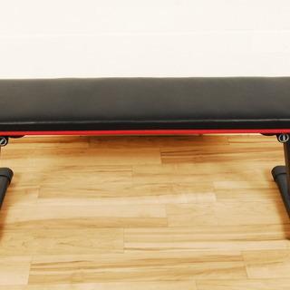 8796 フラットベンチ 折り畳み式 トレーニングベンチ フィット...