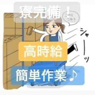 軽作業♪ 時給1400円! 寮完備!