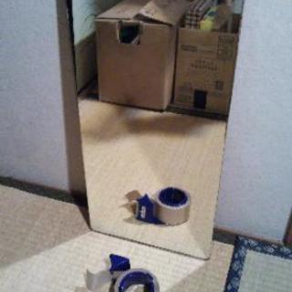 三面鏡の鏡だけ一枚