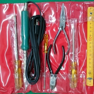 無料で差し上げます HOZAN(ホーザン)製 家庭工具セット 型...