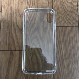 iPhone XS 背面クリアケース 新品未使用