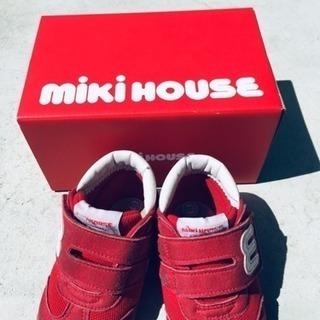 ミキハウス  靴  12.5
