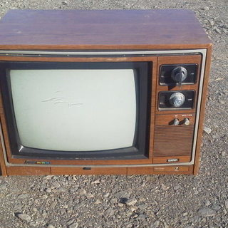 【レトロ】三菱 ブラウン管テレビ 16型