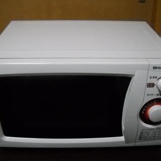美品 シャープ 電子レンジ RE-T3-W5 50Hz専用 ホワイト
