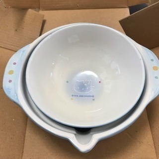 キティ・陶器製のぞうすい鍋(*^_^*)
