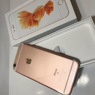 【未使用】iPhone6s 32G〔ローズゴールド〕