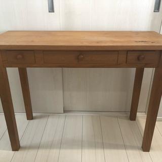 決まりました!ありがとうございました★木製 カントリーな机★ サ...