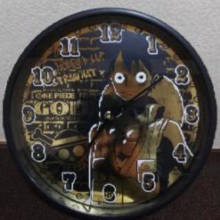 ☆壁掛け時計   ワンピース ルフィ
