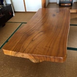 一枚板の座卓35000円