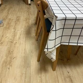 床のDIYに¨̮♡ 奥だけフローリングスタイル デコセルフ