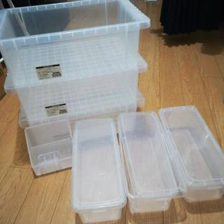 透明収納7点セット クリアボックス