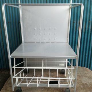 キッチンのゴミ箱ワゴン