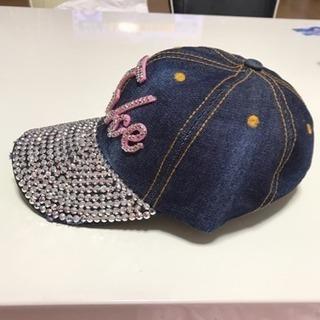 キラキラ帽子