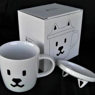 ソフトバンク SoftBank お父さん 蓋付きマグカップ…