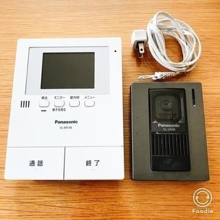 録画可LEDライト付き インターホン VL−MV36