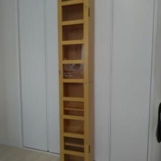 本棚CDラック スリム 隙間