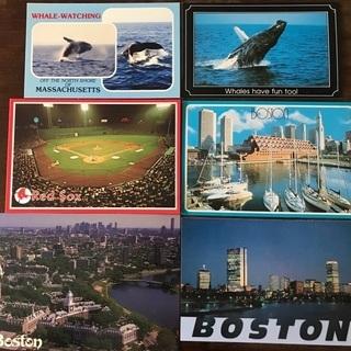 ボストンで購入したご当地ポストカード 6枚