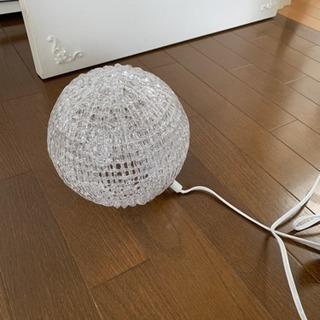 ニトリ ガラスルームランプ