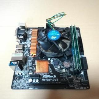 PCパーツセット(corei5 7500 メモリddr4 4×2...