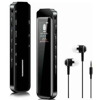 ボイスレコーダー【最新型S15】ICレコーダー 8GB イヤホン付属