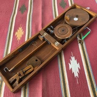 インド製チャルカ(糸車)