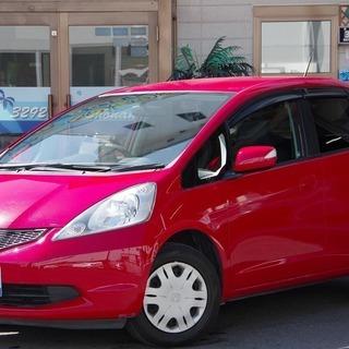 ⭐誰でも車がローンで買える⭐🚗自社ローン専門店🚗フィット L レッド