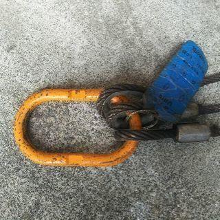 ワイヤー吊り具🉐