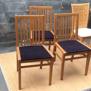 ※値下げ交渉付・残り2脚になりました【イタリア製・木製椅子】いい...