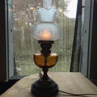 アンティークランプ  オイルランプ 型