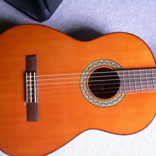 YAMAHA G-120 ネック反り、トップ浮修正済み。弦高12フレット6弦(2.8ミリ)クラシックギター - 鴨川市