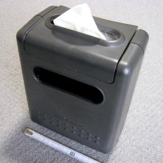 【あげます】車用ゴミ箱 ポケットティッシュ収納可 現状渡し