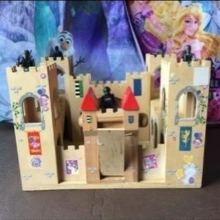 日本未発売 Folding Medieval Castle 木のお城