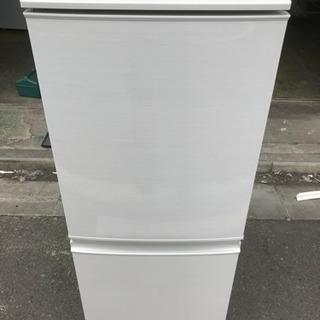 冷蔵庫 SHARP 2016年 2ドア 137L SJ-D…