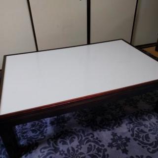座卓テーブル 桑名市 こたつ付 東芝やぐらこたつ
