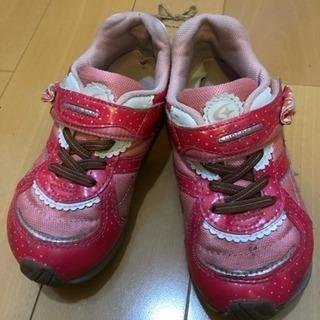 ムーンスター19cm運動靴