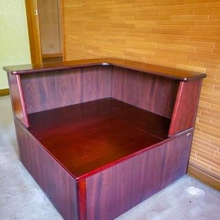 ソファー用コーナー・収納/Woody storage case