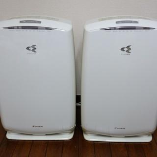 ダイキン加湿空気清浄機2台(MCK55NBK(W))