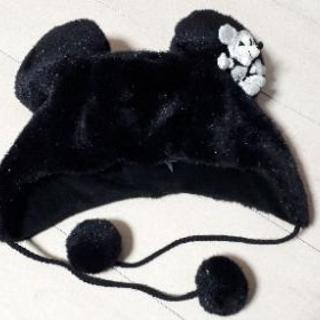 ディズニー ミッキー 帽子 黒