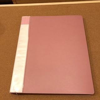 ファイル ピンク リフィル入り