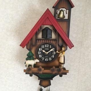 鳩時計 (決まりました)